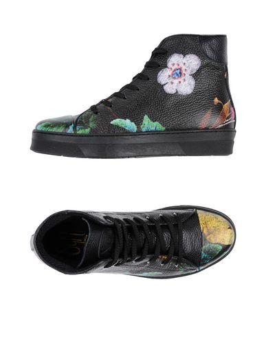 sneakers zeppa converse pelle