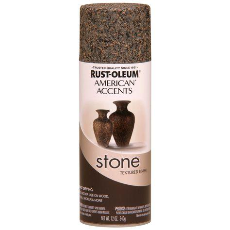 Shop Rust Oleum 12 Oz Granite Stone Spray Paint At Lowes Com