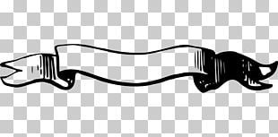 Ribbon Banner Black And White Png Ribbon Banner Black And White Banner Shapes