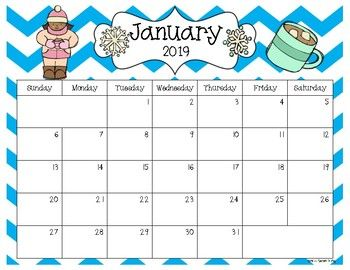 2019 2021 Editable Calendar 30 Months Pdf Version With