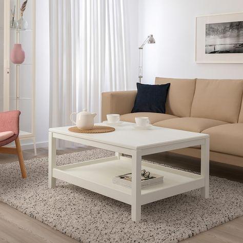 Havsta Table Basse Blanc 100x75 Cm Table Basse Blanc Meuble De Style Table Basse