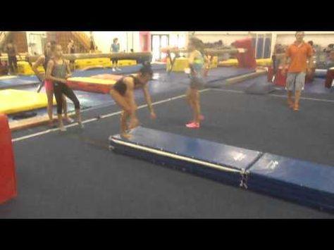 ▶ Straddle Press Strength Exercise - YouTube