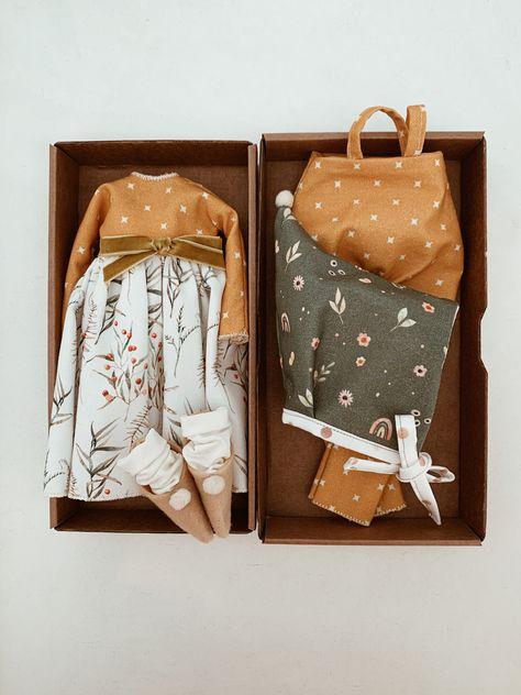 Handmade 14-inches rag dolls with clothes. от LatuttiDollsShop