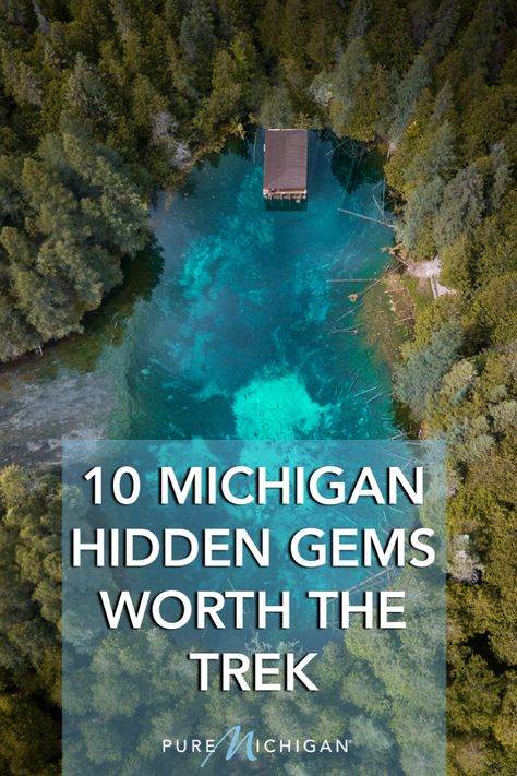 10 Michigan Hidden Gems Worth the Trek - Ready to see some of Michigan's greatest outdoor wonders? Check out these places! Vacation Places, Dream Vacations, Vacation Spots, Places To Travel, Summer Vacation Ideas, Travel Destinations, Family Vacations, Cruise Vacation, Disney Cruise