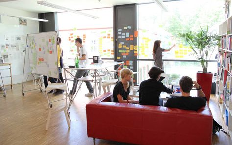 Die Design Thinking Möbel unterstützen die kreativen Prozesse im HPI ...