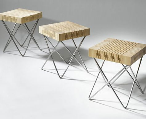 Dutch Designer Carolien Laro Has Created The Spring Wood Collection Of Seating
