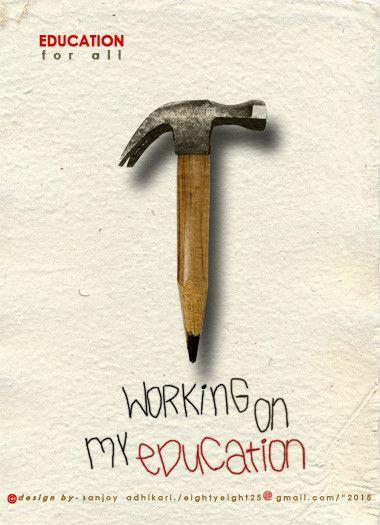 Education for ALL... | poster design | Pinterest