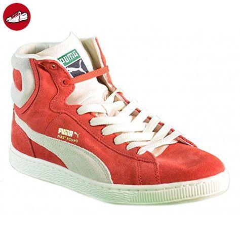 scarpe adidas rosse in pelle