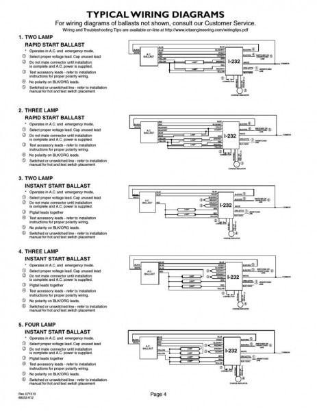 T5 Ballast Wiring Diagram - Schematic Wiring Diagram on