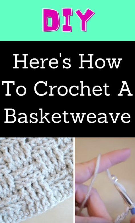 Easy Diy Crafts, Yarn Crafts, Sewing Crafts, Learn To Crochet, Diy Crochet, Crochet Ideas, Diy Projects To Try, Crochet Projects, Crochet Instructions