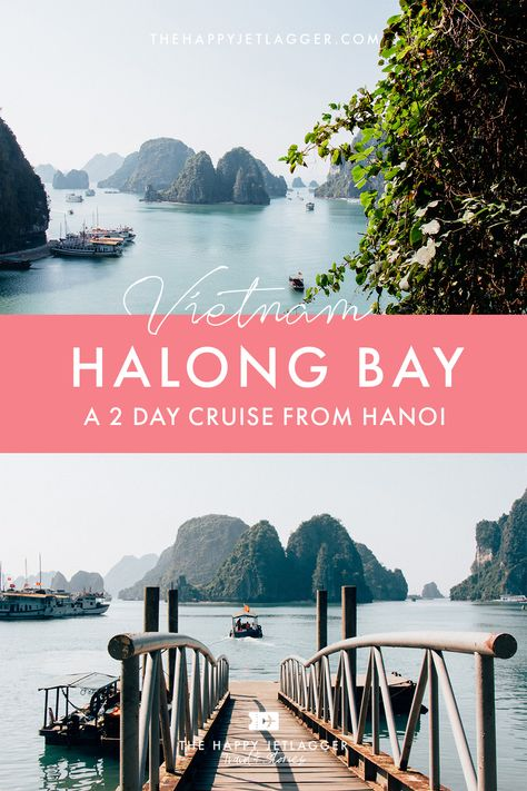 Halong Bay: 2 Day Boat Cruise from Hanoi ✽ Highlights in Vietnam