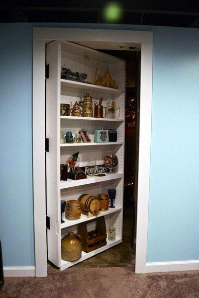 開き戸を隠し扉にする5つの施工方法を考えてみた 隠し扉 隠し部屋