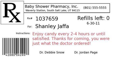 Diy Project Pill Bottle Party Favors Prescription Bottles