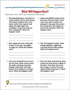 What Will Happen Next Reading Passage And Activity Making Predictions By Scholastic With Images Making Predictions Reading Passages Predicting Activities