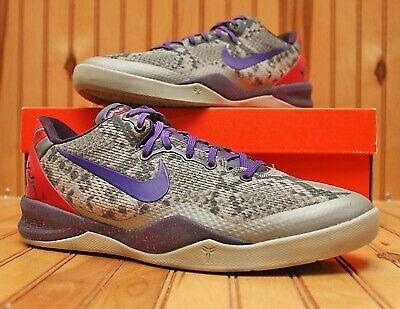 2013 Nike Kobe Viii 8 System Size 7y Mine Grey Black Purple Red 555586 003 Ebay In 2020 Nike Kobe Shoes Nike Kobe Shoes