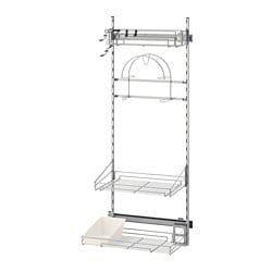 Utrusta Rangement Produits Entretien Ikea Rangement Aspirateur Rangement Rangement Balais