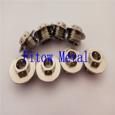 Titanium M6 x 60mm Tapered Ti Bolt Taper Hex Allen Socket Head Screw GR5