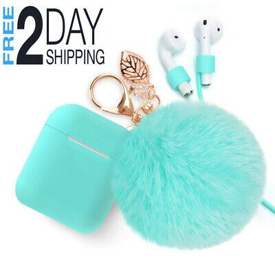 Airpods Case Keychain Bluetooth Airpod Charging Protective Case Portable Earphon Ebay Protective Cases Airpod Case Keychain