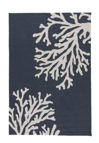Coral Branch Out Area Rug Navy Blue Area Rugs Indoor Outdoor Area Rugs Jaipur Rugs