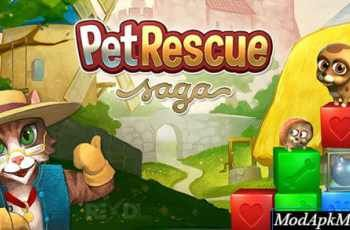 Pet Rescue Saga Mod Apk V1 152 12 Boosters Unlocked Pet Rescue Saga Animal Rescue Pets