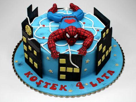 Orumcek Adam Pasta Modelleri Spiderman Konseptli Dogum Gunu Fikirleri Orumcek Adam Pasta Kapkek Pastalar Pastalar