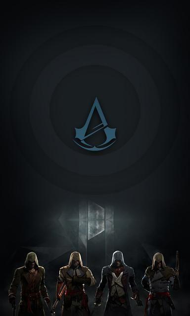 Lock Screen Wallpaper Assassin S Creed Assassinas Papeis De Parede