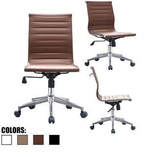 Overstock Com Online Shopping Bedding Furniture Electronics Jewelry Clothing More Leather Office Chair Modern Desk Chair Mid Century Office Chair