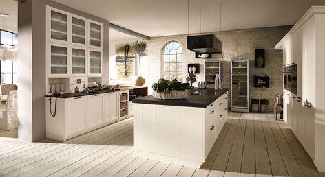 10 best romantik Küchen images on Pinterest Draw, At home and - moderne einbaukuechen kochinsel