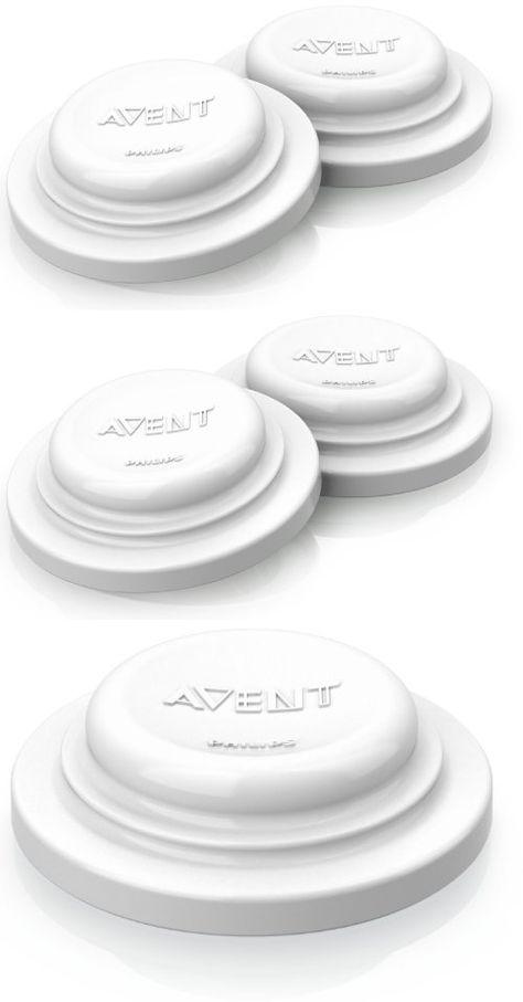 6 disques d´étanchéité, idéal pour conserver ou congeler du lait maternel et nourriture