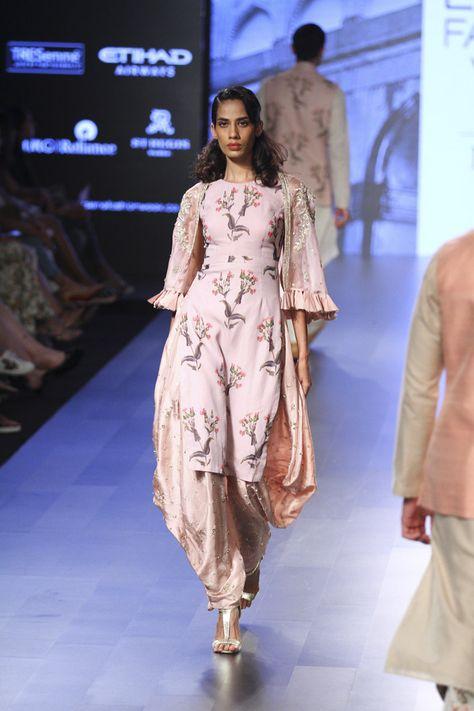 Anushree Reddy at Lakmé Fashion Week Winter/Festive 2017 l Vogue India