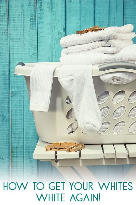 Top Tips On Making Your White Clothes Whiter Ideal For Baby Clothes Cleaning White Clothes Cleaning White Shirts Washing White Clothes