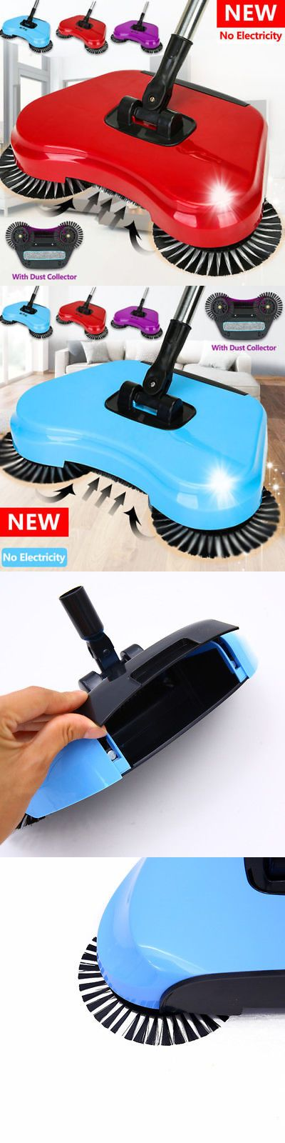 Carpet And Floor Sweepers 79657 No Electricity Spin Hand Push Sweeper Broom Household Floor Dust Cleaning Mop Buy It Now Cleaning Mops Sweeper Broom Broom