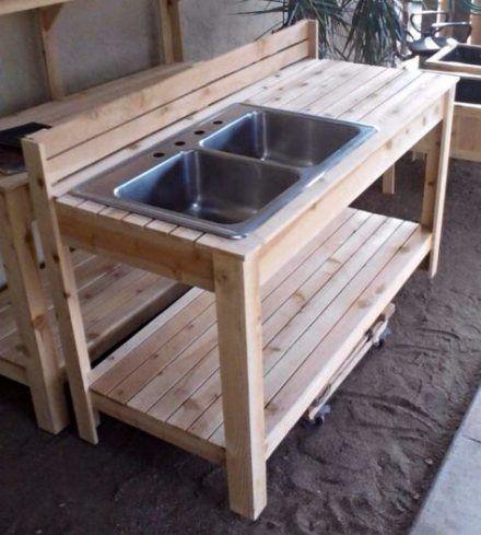 The Post Appeared First On Garden Diy Garden Sink Outdoor Sinks Outdoor Potting Bench