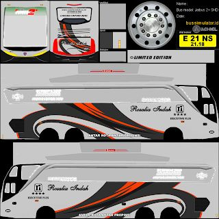 Download Kumpulan Livery Bus Simulator Indonesia Dari Berbagai
