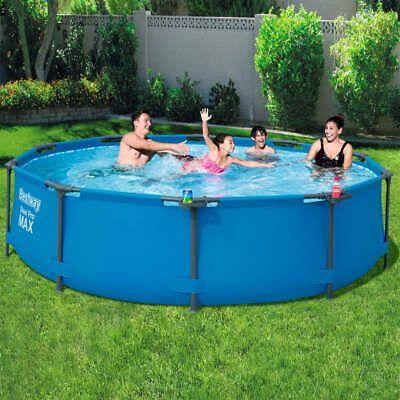 Bestway Piscina Con Telaio Steel Pro Max 305x76 Cm Vasca Fuoriterra Giardino Cool Pools Pool Swimming Pools