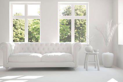 Weisse Sofas Pure Eleganz Modern Couch Decor Home Decor