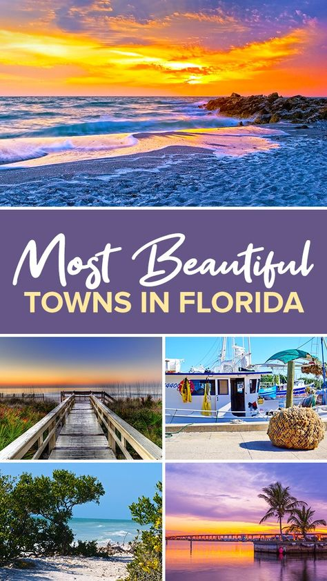 14 of the Most Beautiful Towns in Florida