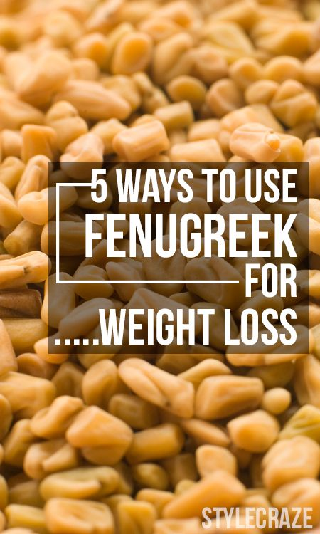 5 Amazing Ways To Use Fenugreek For Weight Loss | Weight Loss Tips