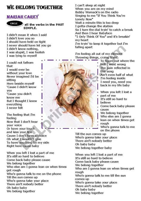 Mariah Carey My Baby Mp3 Download : mariah, carey, download, Lyrics, Ideas, Lyrics,, Mariah, Carey