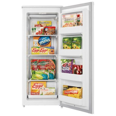 Danby Designer 8 5 Cu Ft Upright Freezer Dufm085a4wdd 3 Walmart Com Upright Freezer Cool Things To Buy Danby