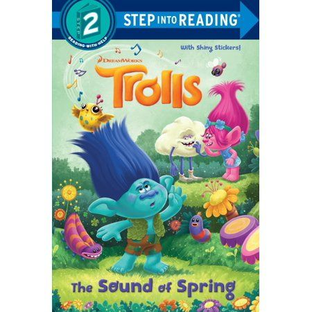 The Sound Of Spring Dreamworks Trolls Walmart Com In 2020 Coloring Stickers Sticker Book Crayola