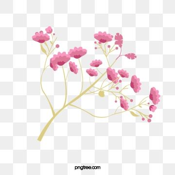 Pink Hand Painted A Small Flower Decoration Pattern Pink Hand Painted A Little Flower Png Transparent Clipart Image And Psd File For Free Download Flower Art Painting Flower Painting Pink Flowers