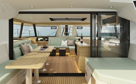 HH Catamarans Ocean Series: a New Line Designed for World Touring