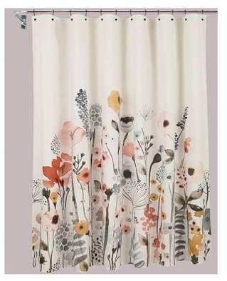 Threshold Shower Curtain Floral Wave Bathroom Bathroomideas Bathroomdecor Home Homedecor Homestyle Targ Floral Shower Curtains Retro Home Decor Curtains