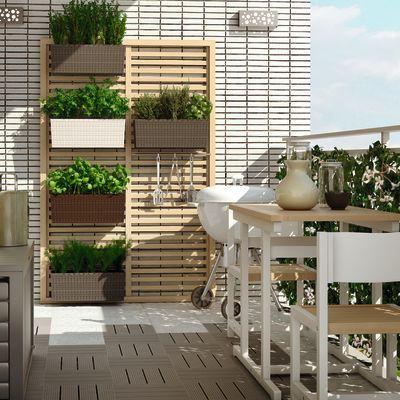 Leroy Merlin Arredamento Giardino Terrazzo.Frangivista Julian 90 X 180 Cm Terrace And Garden Nel 2019