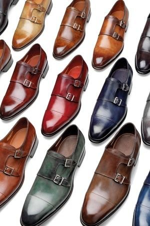double monk straps in all colours!