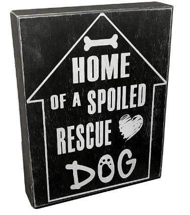 RESCUE DOG RD SIGN
