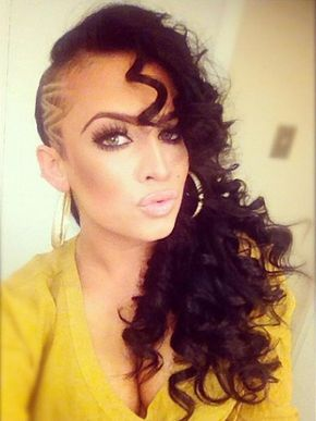 23 Most Badass Shaved Hairstyles For Women Stayglam Half Shaved Hair Shaved Hair Womens Hairstyles
