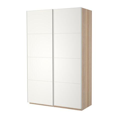 Ikea Pax Ante Scorrevoli.Pax Guardaroba Con Ante Scorrevoli Effetto Rovere Con