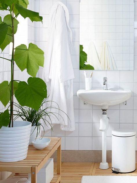 Comment décorer une salle de bain blanche - JOLI PLACE